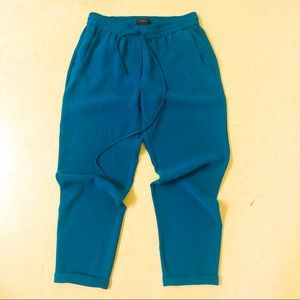 Jcrew black label teal pants